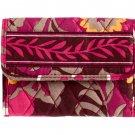 Vera Bradley Euro Wallet Billfold Carnaby Billfold $27 NEW
