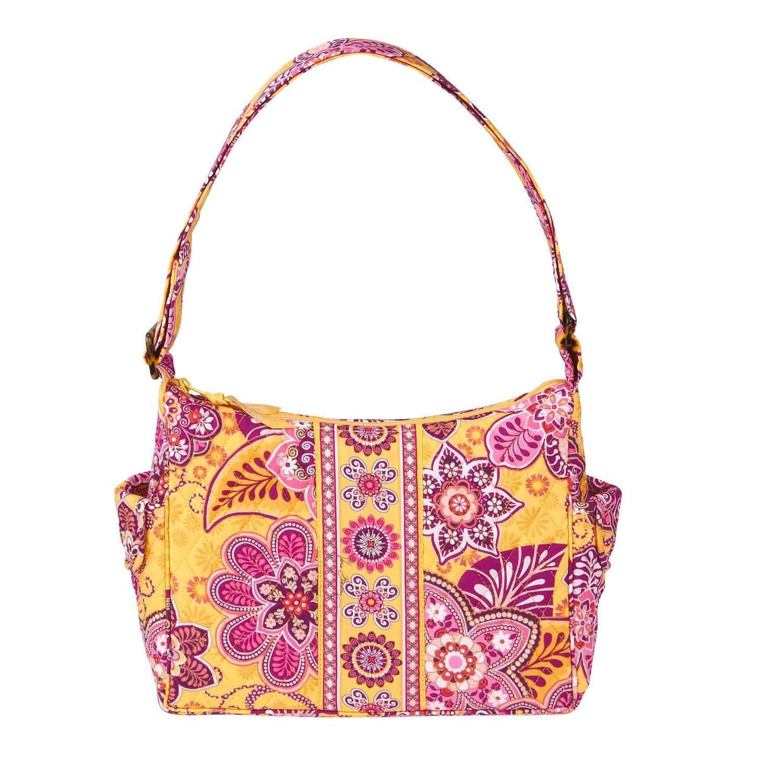 Vera Bradley Purse Handbag Tote Bag On the Go Bali Gold $63 NEW
