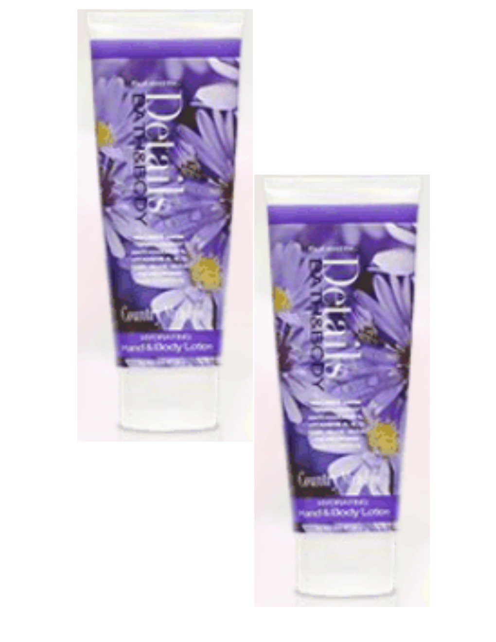 New Lot of 2 Details Bath & Body Country Meadows Hydrating Hand & Body Lotion NEW