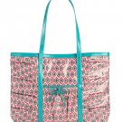 Vera Bradley Extra Large Tote Bag Take me With You Tote Call Me Coral $68 NEW