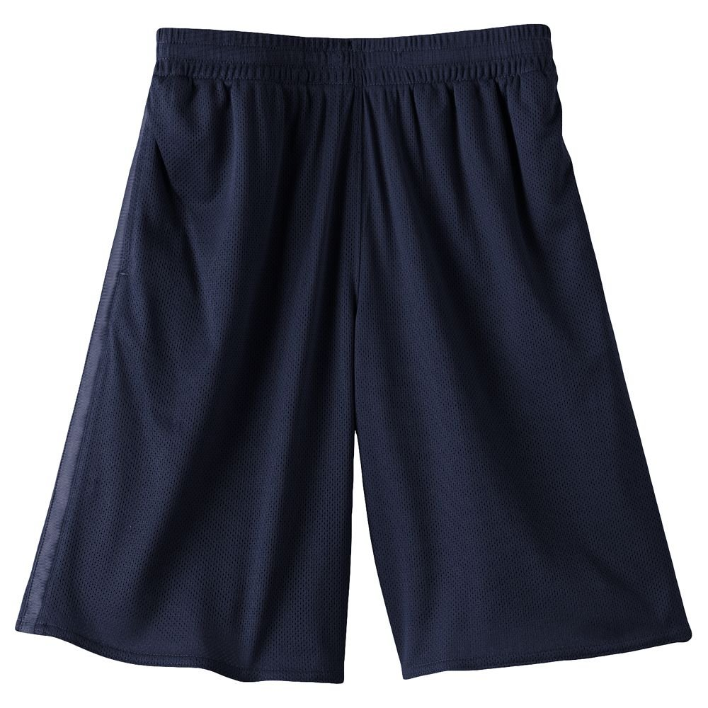 Tek Gear Basic Shorts Boys Sz. Size Extra Large XL NAVY BLUE NEW