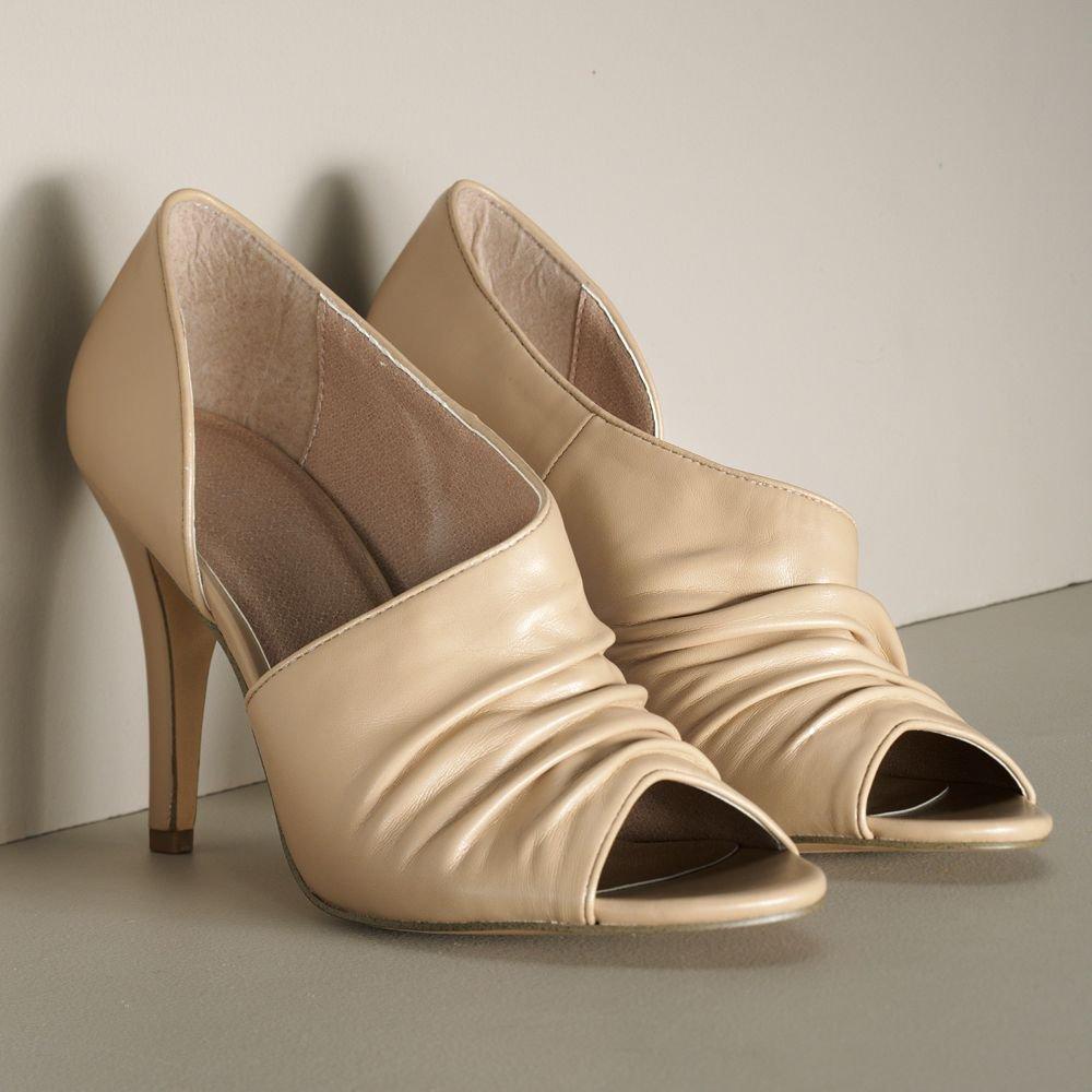 Elle NUDE Women's Dress Heels Shoes Size 8 Womens Dress Peep Toe NEW
