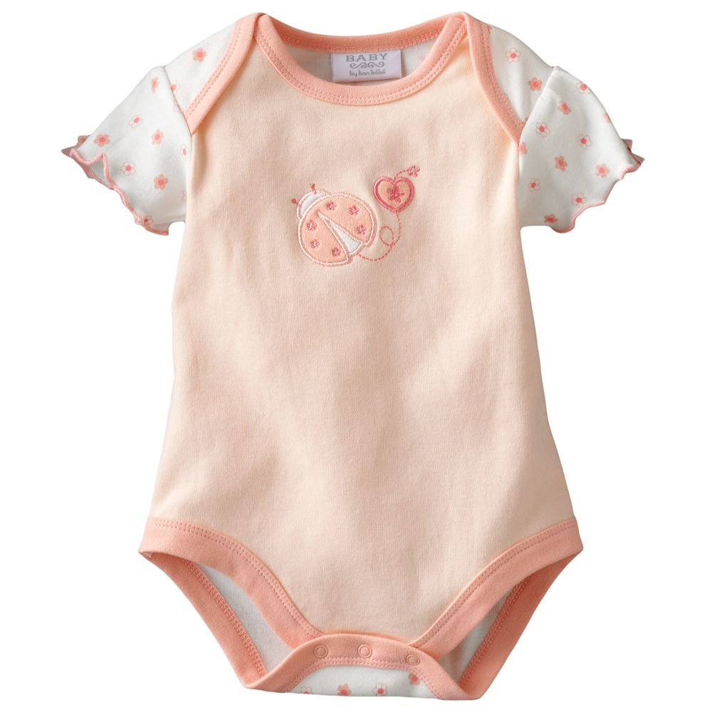 NEW Baby by Bon Bebe One Pc 6 to 9 Mo Baby Outfit LadyBug Onesie