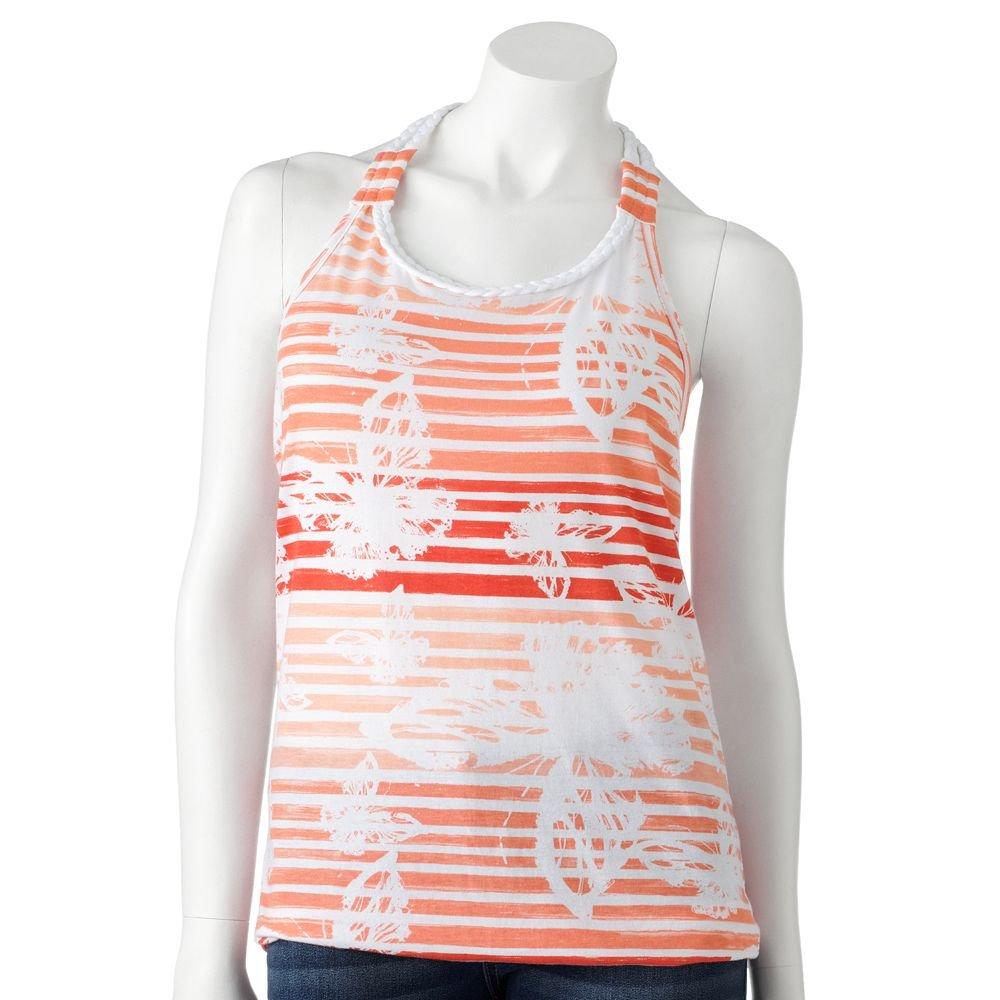 Juniors Teens Girls Striped Braided Tank Top Shirt by SO Sz L Large $20.00 NEW