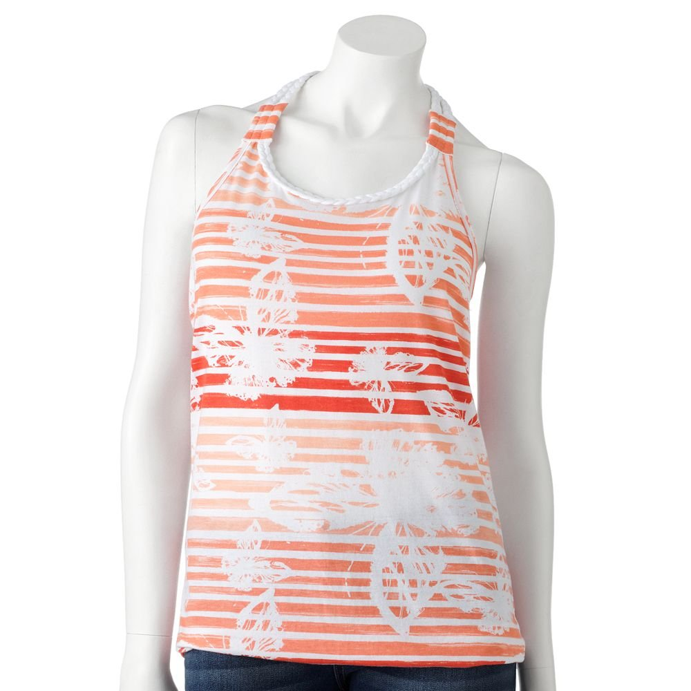 Juniors Teens Girls Striped Braided Tank Top Shirt by SO Sz S Small $20.00 NEW