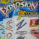 Crayola Color Explosion Edition 2 Magic Designs - 18 Pages - NEW