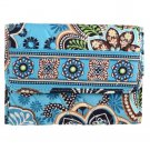 Vera Bradley Euro Wallet Billfold Bali Blue Billfold $27 NEW