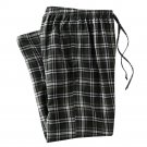 Mens Sz. Small or S Multi Dark Green Plaid Flannel Sleep Lounge Pants NEW $30