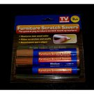 NEW in Pkg 3 PK Furniture Scratch Savers Repair Touch Up Kit by TV BRANDS