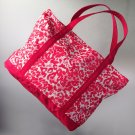 SVVW Vera Wang Breast Cancer Awareness Leopard Tote LARGE SIZE NEW