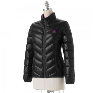 NEW Womens Puffer Down Coat Jacket ZeroXposur BLACK Medium M $130