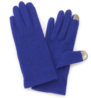 Runway Womens Royal Blue Tech Gloves Sz. Large Winter Gloves NEW $33