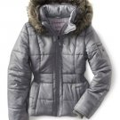 NEW Womens Puffer Jacket Coat Fur Hood Aeropostale Patina Medium M Jrs $119.00