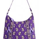 Vera Bradley Purse Handbag Small Lisa B Simply Violet $63 NEW