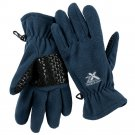 ZeroXposur Mabbel Womens Fleece Gloves M - L Blue NEW $30