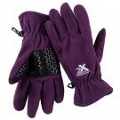ZeroXposur Mabbel Womens Fleece Gloves S - M Purple NEW $30