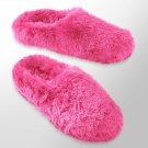 Womens Plush Clog Slippers by SO Pink Size Large NEW $28