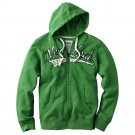 Urban Pipeline Fleece Hoodie Mens Green Hoodie Hooded Zip Front Jacket Sz Large or L $65 NEW