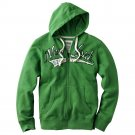 Urban Pipeline Fleece Hoodie Mens Green Hoodie Hooded Zip Front Jacket Extra Large XL $65 NEW