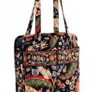Vera Bradley Purse Handbag Shoulder Bag Perfect Pocket Tote Versailles $62 NEW