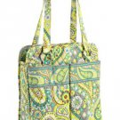 Vera Bradley Purse Handbag Shoulder Bag Perfect Pocket Tote Lemon Parfait $62 NEW