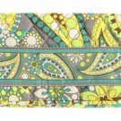 Vera Bradley One for the Money Wallet Lemon Parfait PATTERN Billfold $26 NEW