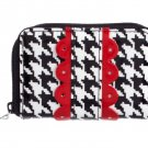 Vera Bradley Key Card & Coin Wallet or Billfold in Deco Daisy Pattern $22 NEW