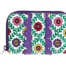 Vera Bradley Key Card & Coin Wallet or Billfold in Viva la Vera Pattern $22 NEW