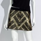 NEW Juniors Medium or M Sequin Short Skirt by Authentic Icon in Black $58.00