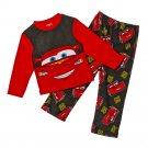 Disney Cars Lightning McQueen Pajama Set Boys Size 4 2 Pc Pajama Set Size NEW $30