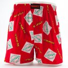Tabasco Boxers and Bank Set Mens Sz. Small Boxer Shorts Underwear NEW $20.00