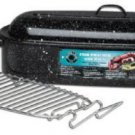 NEW Granite Ware 22.5 Inch Fish Poasting Pan with Baking Rack NEW