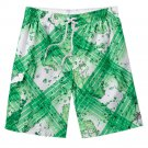 Mens M or Medium ZeroXposur Water Striped Swim Trunks or Suit NEW $46.00
