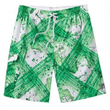 Mens M or Medium ZeroXposur Water Striped Swim Trunks or Suit NEW $46.00