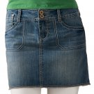 NEW Juniors Size 0 Denim Jean Mini Skirt by SO Short Style $36.00