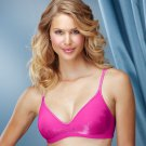 NEW PINK Barely There CustomFlex Fit Lightly Lined Wire-Free Bra 4085 Medium M