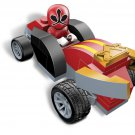 Mega Blocks Power Rangers Super Samurai # 5776 Red Pocket Racer NEW