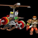 Mega Blocks World of Warcraft Flying Machine 91018 90 Piece Build Set NEW