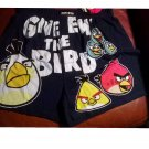 Rovio Angry Birds Mens Boxers Boxer Shorts Give em the Bird Small NEW