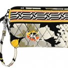 Vera Bradley Authentic Wristlet Billfold Dogwood Pattern $34 NEW