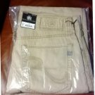 Mens Rock and Republic Light Weight Khaki Tan Neil Straight Jeans 30 x 32 $88