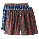 Size Small Chaps 2 Pack 2 Pairs Boxer Shorts Plaid Woven Boxers $28