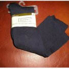 New 2 Pair CoolMax Microfiber Knee High Socks by Merona Navy Blue Casual Socks NEW