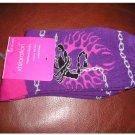 New Purple Scorpion Crew Socks by xhilaration Casual Socks NEW