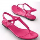 CHAPS GIBSON Womens Fuschia Sandals Shoes Size 8M NEW