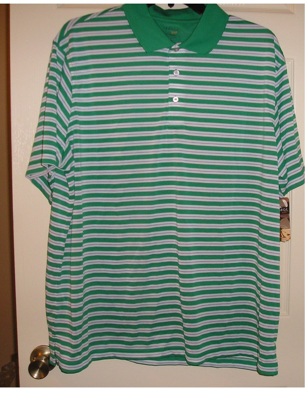 New Big Tall 2xl Golf Polo Shirt Mens By George Short