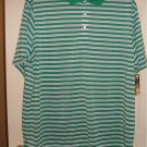 NEW Big Tall 2XL Golf Polo Shirt Mens by George Short Sleeve Sz 2XL XXL NEW