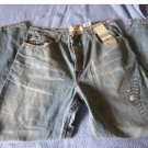 NEW Mens Faded Glory Vintage Wash Boot Cut Jeans 34 x 30 # 2611