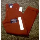 NWT Womens Dark Red Denim Bandolino Karyn Slim Boyfriend Pants Jeans Stretch Size 4