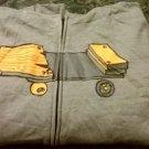 Boys Size Extra Large Shaun White Gray Fleece Hoodie Hooded Zip Front Jacket SkateBoard NEW